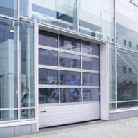Промышленные панорамные ворота серии ISD 02