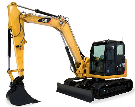 Мини-экскаватор Caterpillar CAT 305C SR REGA