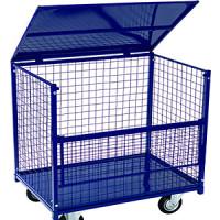 КСМ — Сетчатые контейнеры с металлической крышкой