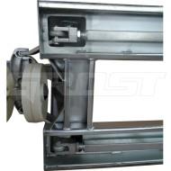 Тележка гидравлическая гальванизированная GROST GT 25-GA