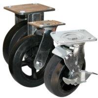 Колесные опоры поворотные, поворотные с тормозом и не поворотные серии SCd, SCdb, FCd