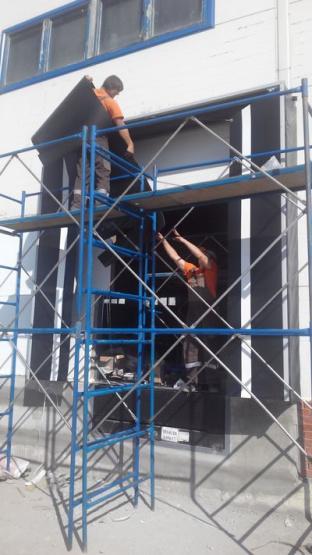 Поставка и монтаж автоматических промышленных ворот для ГОК