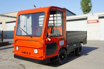 Поставка электрического складского тягача для АО