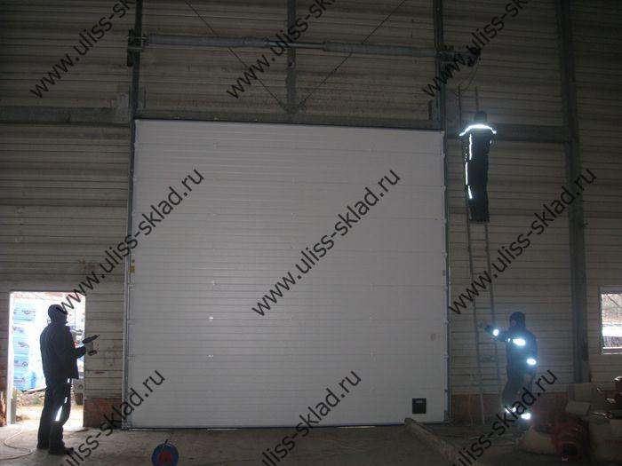 Поставка и монтаж автоматических промышленных ворот для строящегося завода по производству электродвигателей ЗАО «Генборг»