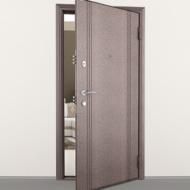 Защитные стальные двери серии Комфорт
