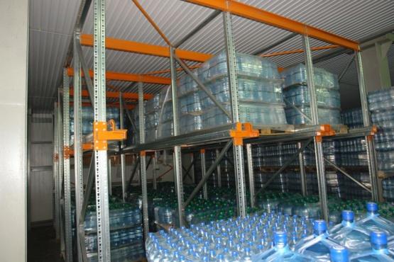 Поставка и монтаж глубинного стеллажа для ЗАО Завод минеральных вод
