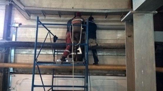 Поставка и монтаж промышленных ворот для ОАО ГОК Мураевня