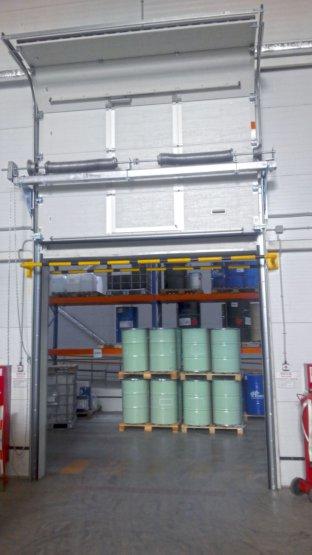 Поставка и монтаж промышленных ворот для ООО «ЛКМ-ГРУПП»