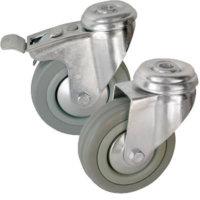 Колесные опоры поворотные и поворотные с тормозом серии SСhg, SСhgb