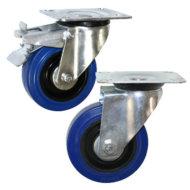 Колесные опоры поворотные и поворотные с тормозом серии SCL и SCLb