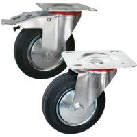 Колесные опоры поворотные и поворотные с тормозом серии SC и SCb