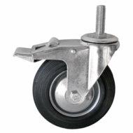 Колесные опоры поворотные и поворотные с тормозом болтовое крепление серии SCt и SCtb