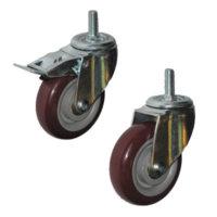 Колесные опоры полиуретановый контактный слой серии SCtpk, SCtpkb