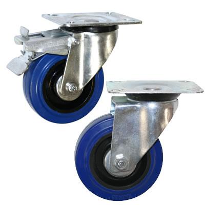 Колесные опоры поворотные и поворотные с тормозом серии SRCL и SRCLb