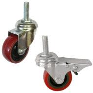 Колесные опоры полиуретановый контактный слой серии SСtr, SСtrb