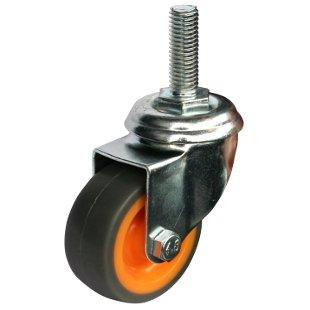 Колесные опоры поворотные термопластическая резина серии SСtk, SСtkb