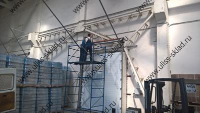 Поставка и монтаж промышленных ворот для ООО «ТехноПром»