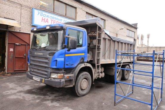 Поставка и монтаж пологов на грузовики-самосвалы для ПАО «Новолипецкий металлургический комбинат»