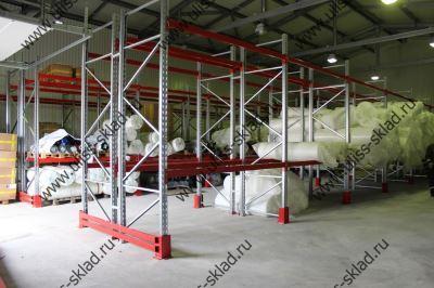 Поставка и монтаж паллетных стеллажей для ООО «Швейная фабрика Усмань»