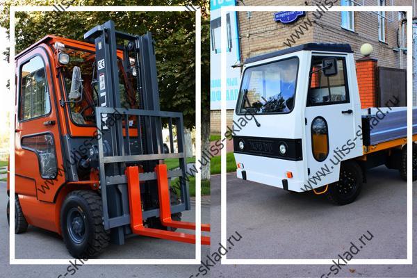 Поставка электрокары и погрузчика для ПАО «Новолипецкий металлургический комбинат»