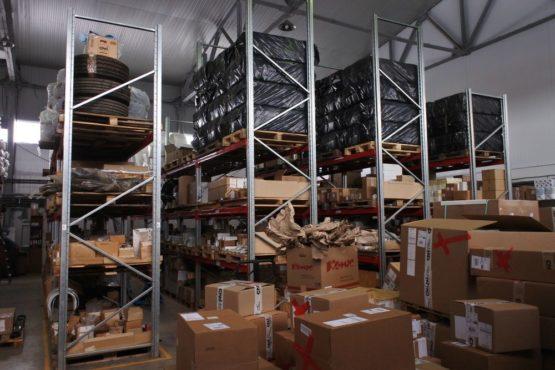 Поставка паллетных стеллажей для ООО «Бизнес Маркет филиал»