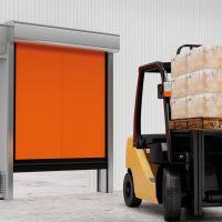 Скоростные рулонные ворота для морозильных камер серии SpeedRoll SDC