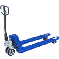 Тележка гидравлическая низкопрофильная TOR г/п 3000 кг 550х1150 мм CBY-ACL (полиуретан.колеса)