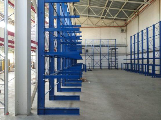 Поставка и монтаж консольных и паллетных стеллажей для производственной деятельности ООО «Л-Пак» и его подразделений
