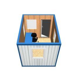 Блок-контейнер Пост охраны  БК-013