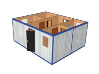 Модульное здание с КПП МК-02