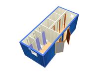 Сантехнический блок-контейнер СТ-31