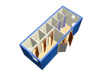 Сантехнический блок-контейнер СТ-32