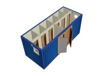 Сантехнический блок-контейнер СТ-33