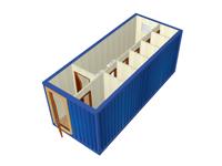 Сантехнический блок-контейнер СТ-45