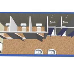 Сантехнический блок-контейнер СТ-49
