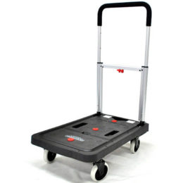 Тележка платформенная MAGNA CART FF-S складная, алюминий, сталь, пластик, грузоподъемность 137 кг