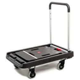 Тележка платформенная MAGNA CART FF-XL складная, алюминий, сталь, пластик, грузоподъемность 200 кг